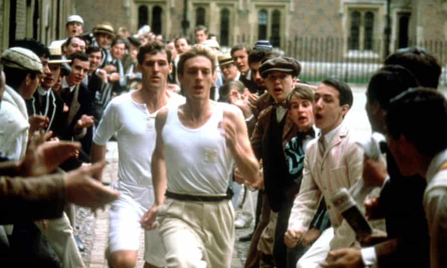 Ben Cross y Nigel Havers en Chariots of Fire.