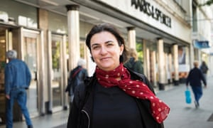Shopper Patricia Tofes says of M&S: 'I think it's a bit expensive for the food. The clothing is not my style.'