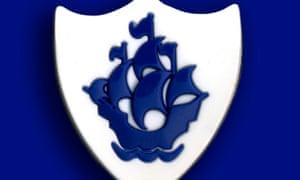 A Blue Peter badge