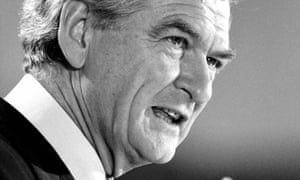 Bob Hawke in 1983. On Wednesday parliament held a day of condolences for the former Labor prime minister, who died in May aged 89.
