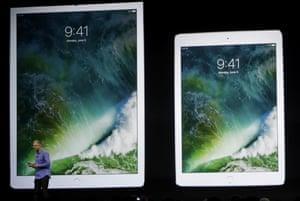 Apple's Greg Joswiak speaks about the iPad Pro