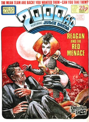 2000AD cover with Durham Red