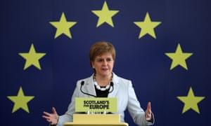 Scottish first minister and SNP leader, Nicola Sturgeon