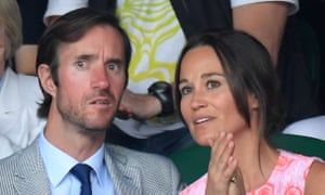 James Matthews and Pippa Middleton at Wimbledon