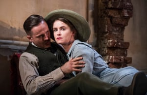 Hunger for life … Fionn Walton and Judith Roddy as Jack and Nora Clitheroe.