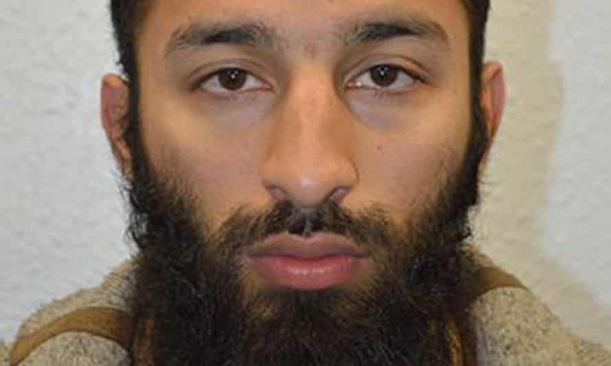 Khuram Butt, one of three men who murdered eight people in the London Bridge attack.
