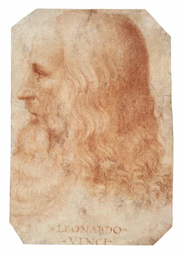 Leonardo da Vinci, c. 1515-18, attributed to Francesco Melzi.