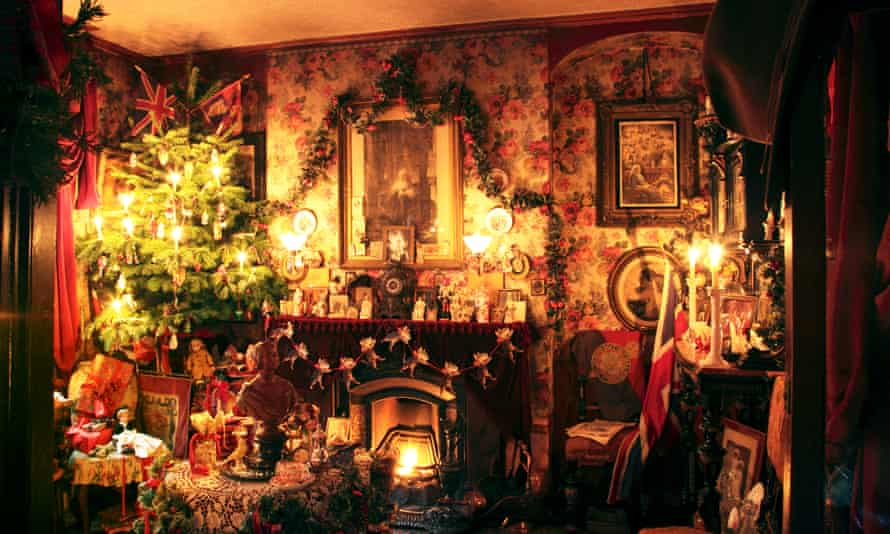 Christmas Installation at Dennis Severs' House, East London