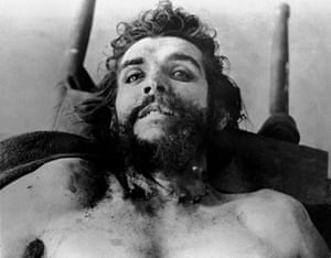 Che Guevara, shortly after his death.