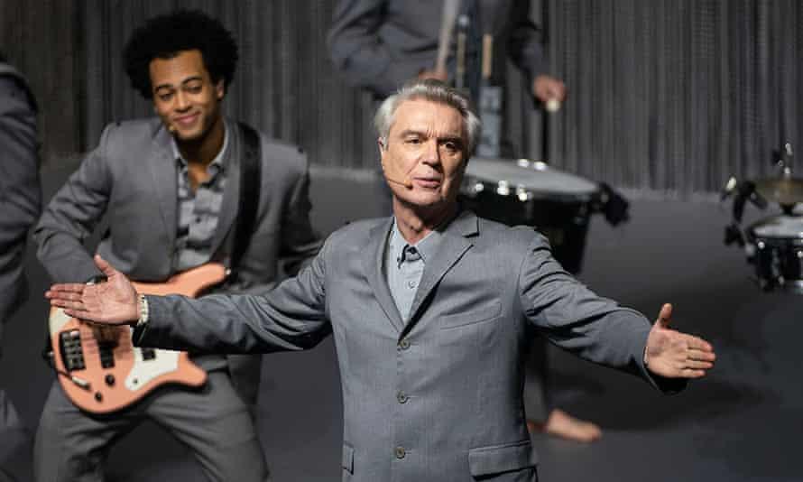 David Byrne's American Utopia – a treat for Byrne fans.