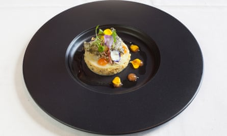'Loose and floppy': crab with mustard crème fraîche.