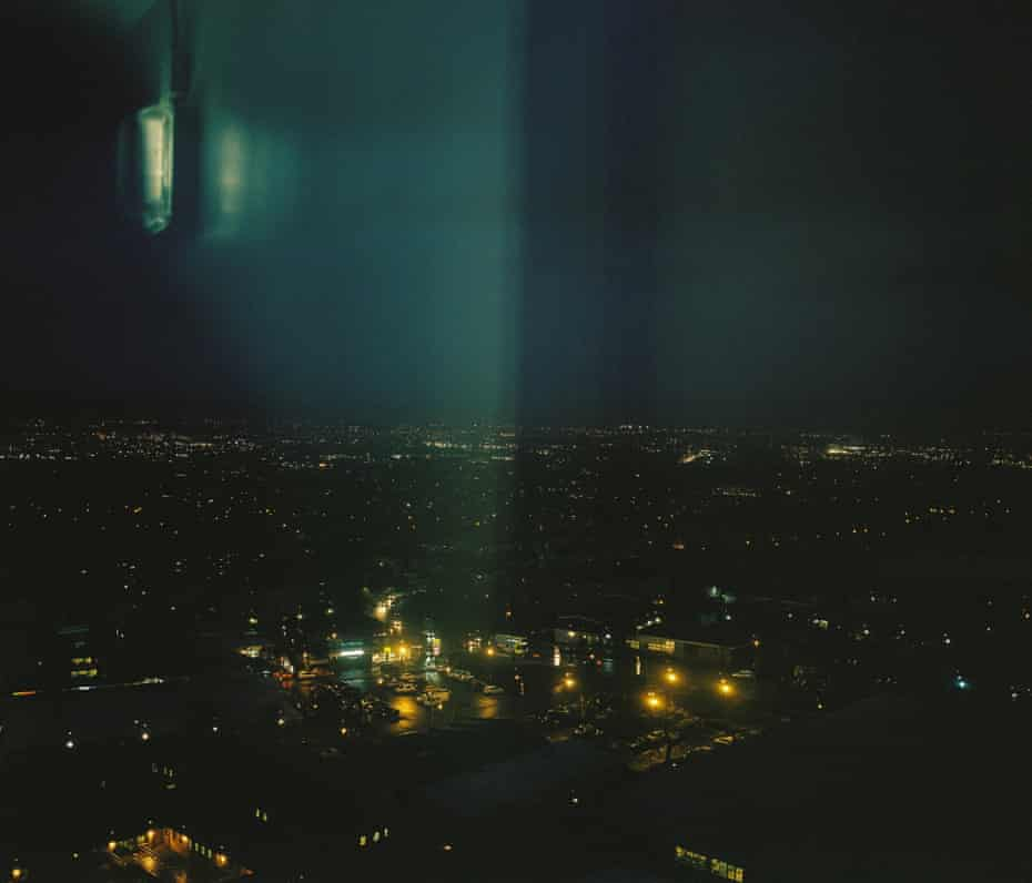 """From Castlemilk looking over Glasgow. """"Glasgow is a city drenched in trauma"""". Billy McMillan"""