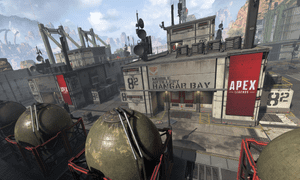 The Apex Legends map offers a combination of swampy rural areas with military industrial buildings and swooping canyons.