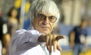 Bernie Ecclestone believes the time is right for Formula One to embrace an all-electric future