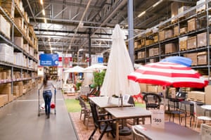 The Ikea warehouse experience.