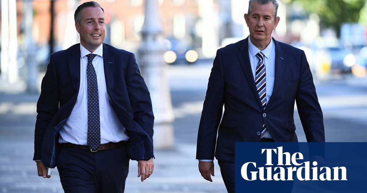 DUP's Paul Givan named as Northern Ireland first minister