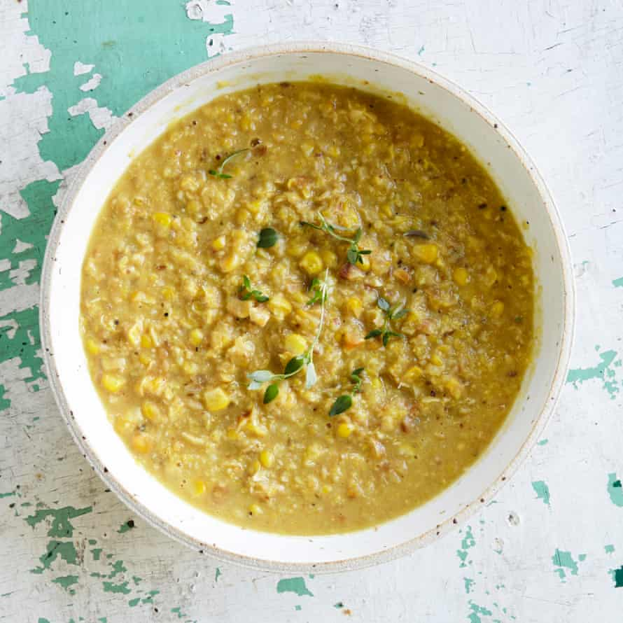 Jane Baxter's creamed corn with cumin and thyme.