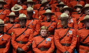 The Royal Canadian Mounted Police commissioner said: 'You came to the RCMP wanting to personally contribute to your community and we failed you. We hurt you. For that, I'm truly sorry.'