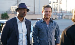 Damon Wayans and Clayne Crawford in Lethal Weapon: well-placed quips ensue