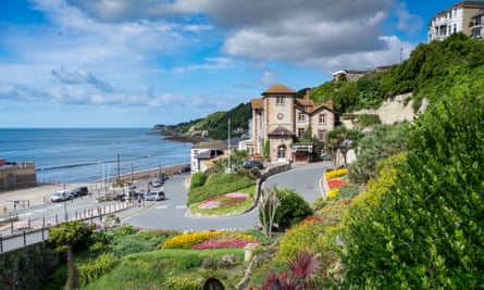 A Summers day in Ventnor, Isle of Wight