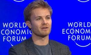 Nico Rosberg in Davos