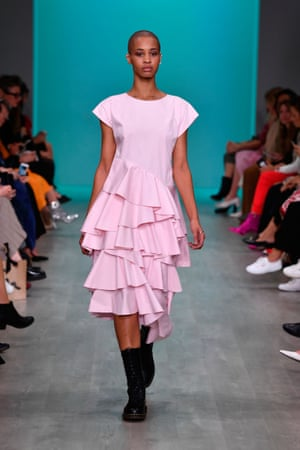 Take a shortcut to sophisticated summer dressing with a sculptural dress like this flouncy look from Akira