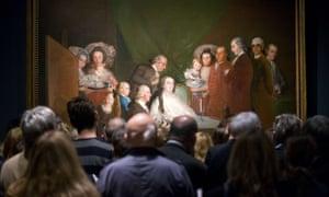 Francisco Goya's The Family of the Infante Don Luis de Borbon (1783-4)