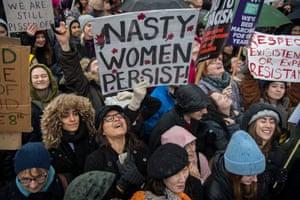 Nasty women persist!