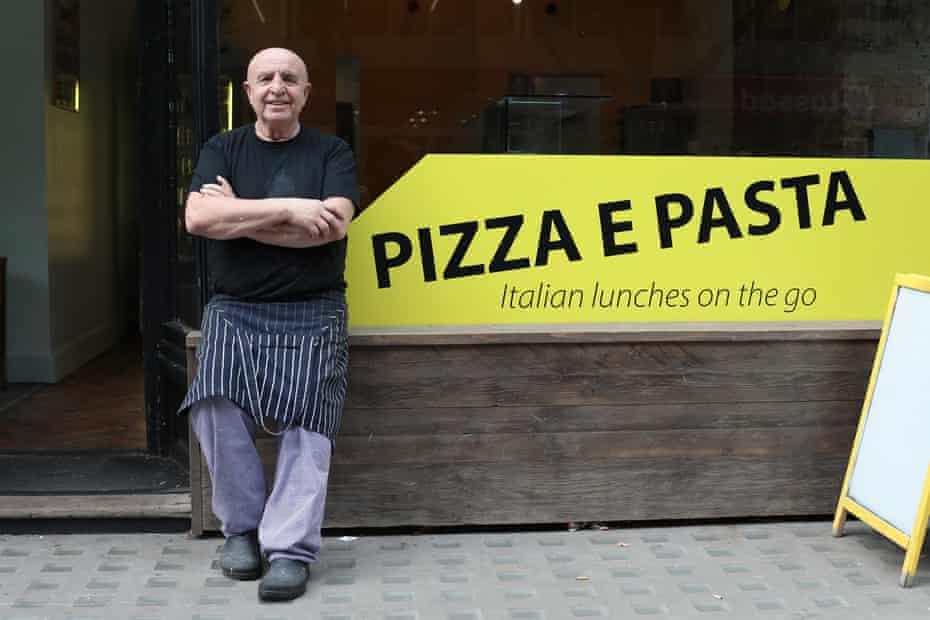 Antonio Verruto at Malletti Pizza in Clerkenwell, London