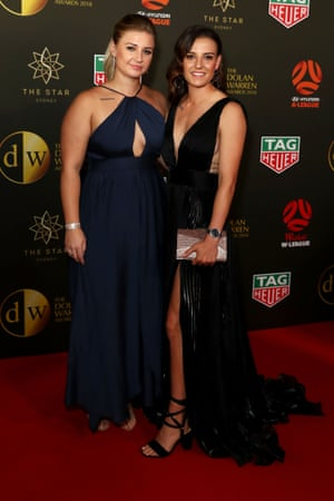 Chloe Logarzo and partner Jasmine Peters