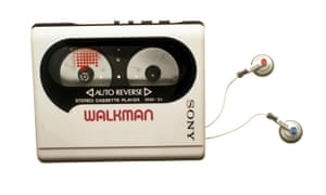 A Sony Walkman from 1988, fitted with auto-reverse.