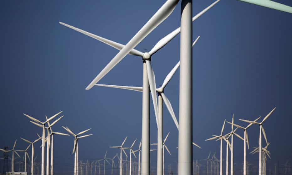 Beijing wants to increase the country's wind capacity by a factor of between three and five before 2030.