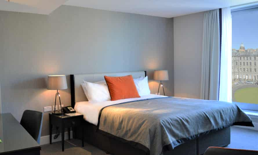 Hotel room at Ten Hill Place