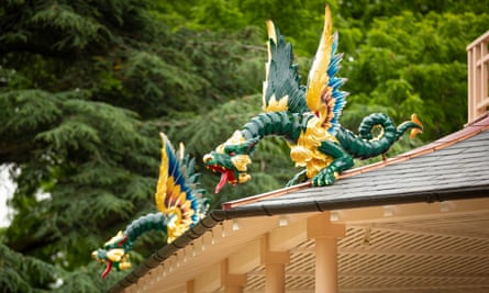 The Chinese pagoda in Kew Gardens