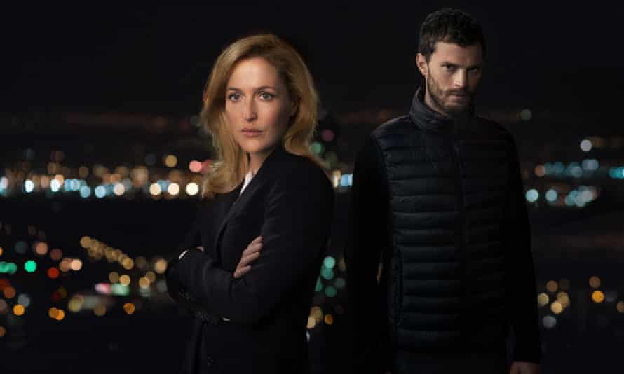 The Fall starring Gillian Anderson as DSI Stella Gibson and Jamie Dornan as Paul Spector.
