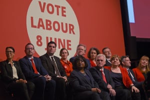 Members of Britain's opposition Labour party