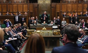 John Bercow speaks to the House of Commons before his retirement