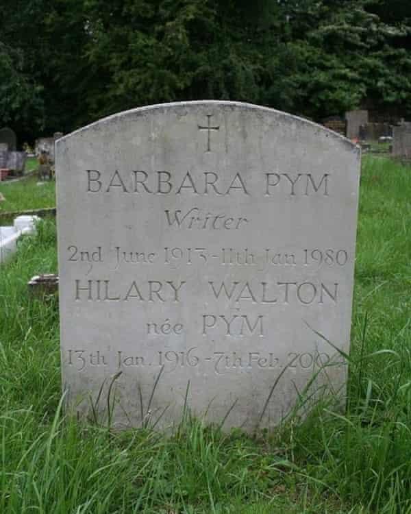 Barbara Pym's gravestone