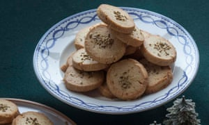 Jeremy Lee's orange and fennel biscuits.