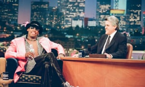 Dennis Rodman on The Tonight Show in 1997