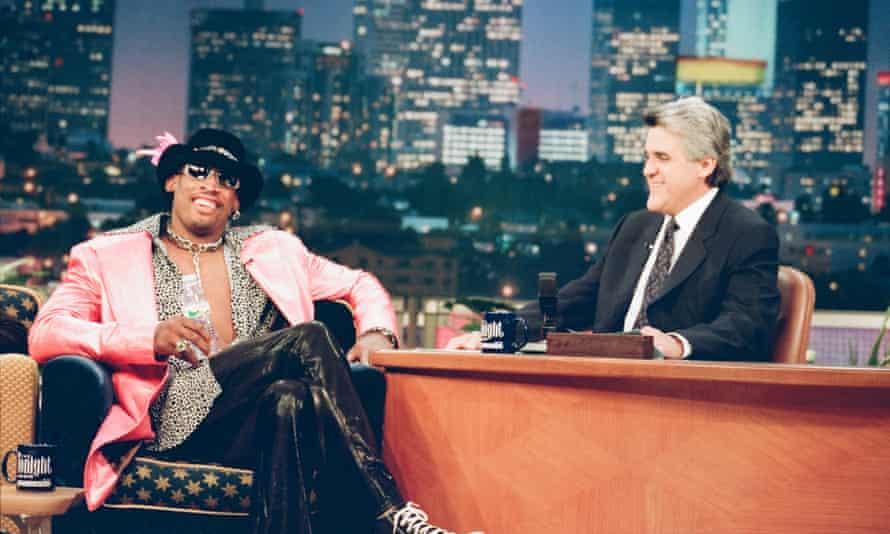 Dennis Rodman on The Tonight Show in 1997