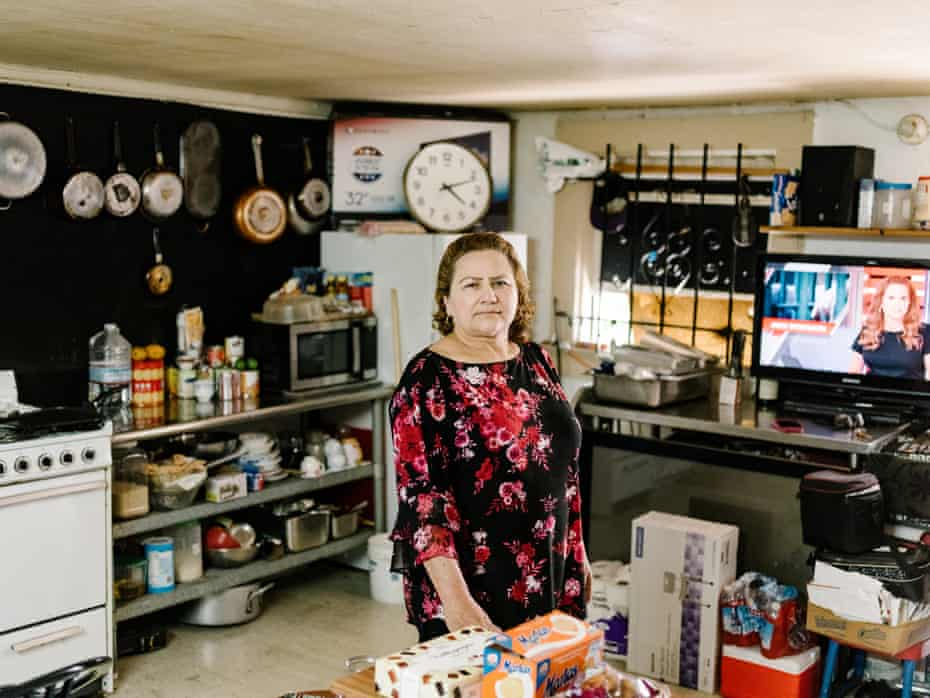Maria Espinoza has lived in a building in Oakland's Eastlake neighborhood for decades.