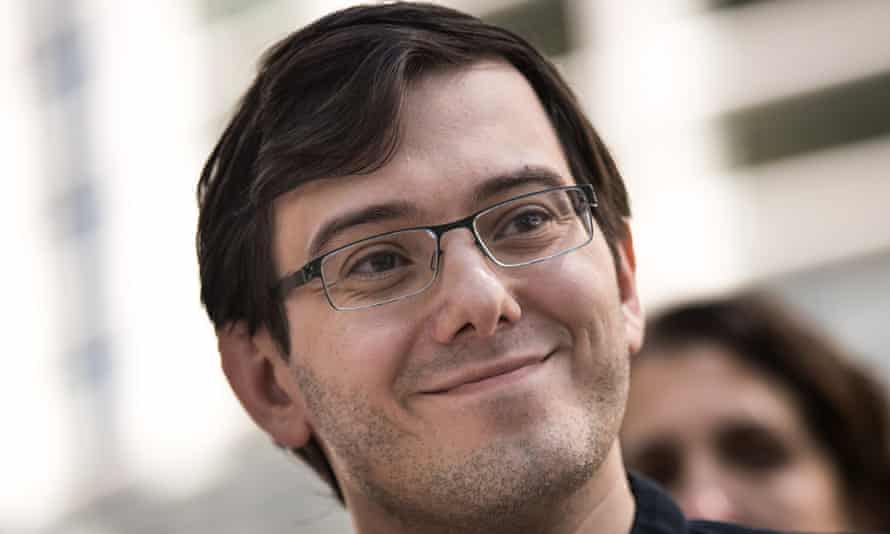 Martin Shkreli: 'You can't really punish someone like Shkreli by sending him to prison; that's just more fuel for a book or a movie about his life.'