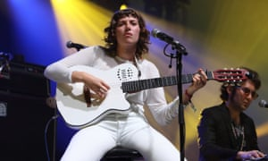 Aldous Harding at End of the Road festival.