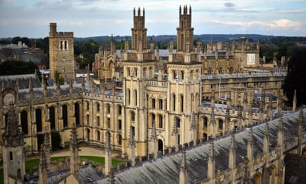 Testing the ability to think critically … All Souls College, Oxford.