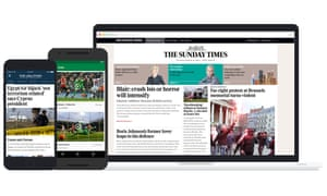 The Times and Sunday Times have merged their websites and launched new apps.