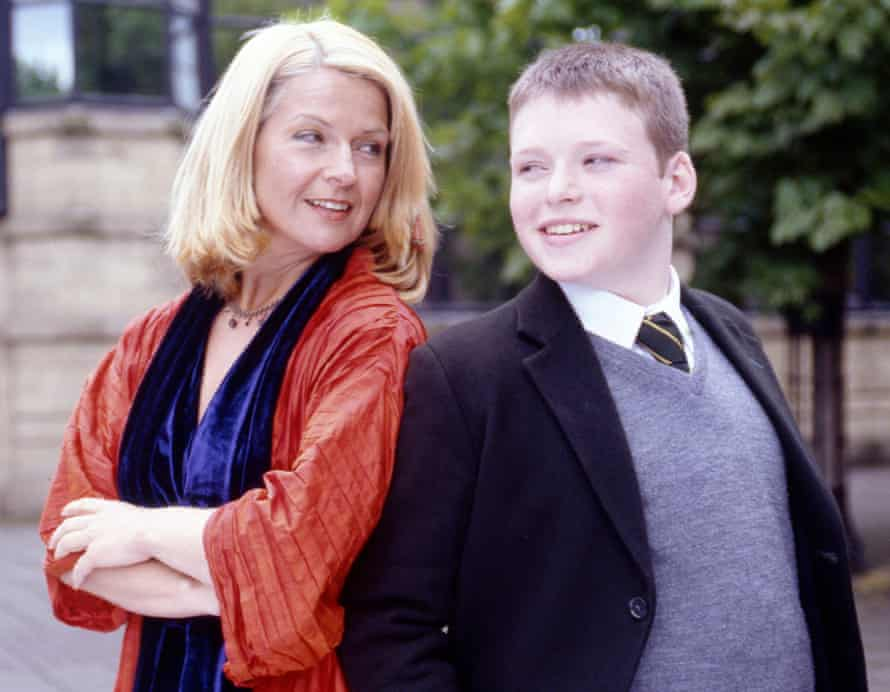 Toyah Willcox and Richard Madden in TV series Barmy Aunt Boomerang