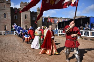 Scone Palace forms an appropriate backdrop for events