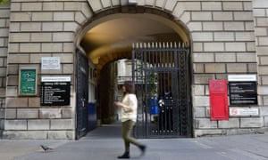 St Bartholomew's hospital in London is one of those affected by cyber-attack