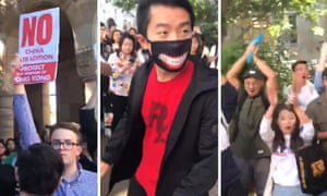 Hong Kong protest at University of Queensland